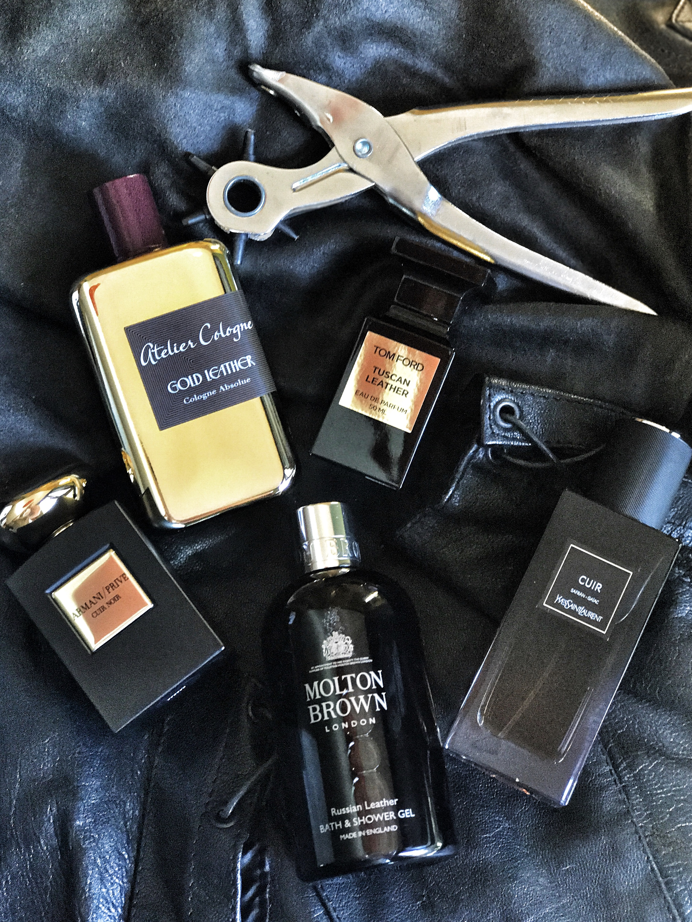 Best Fall Leather Fragrance
