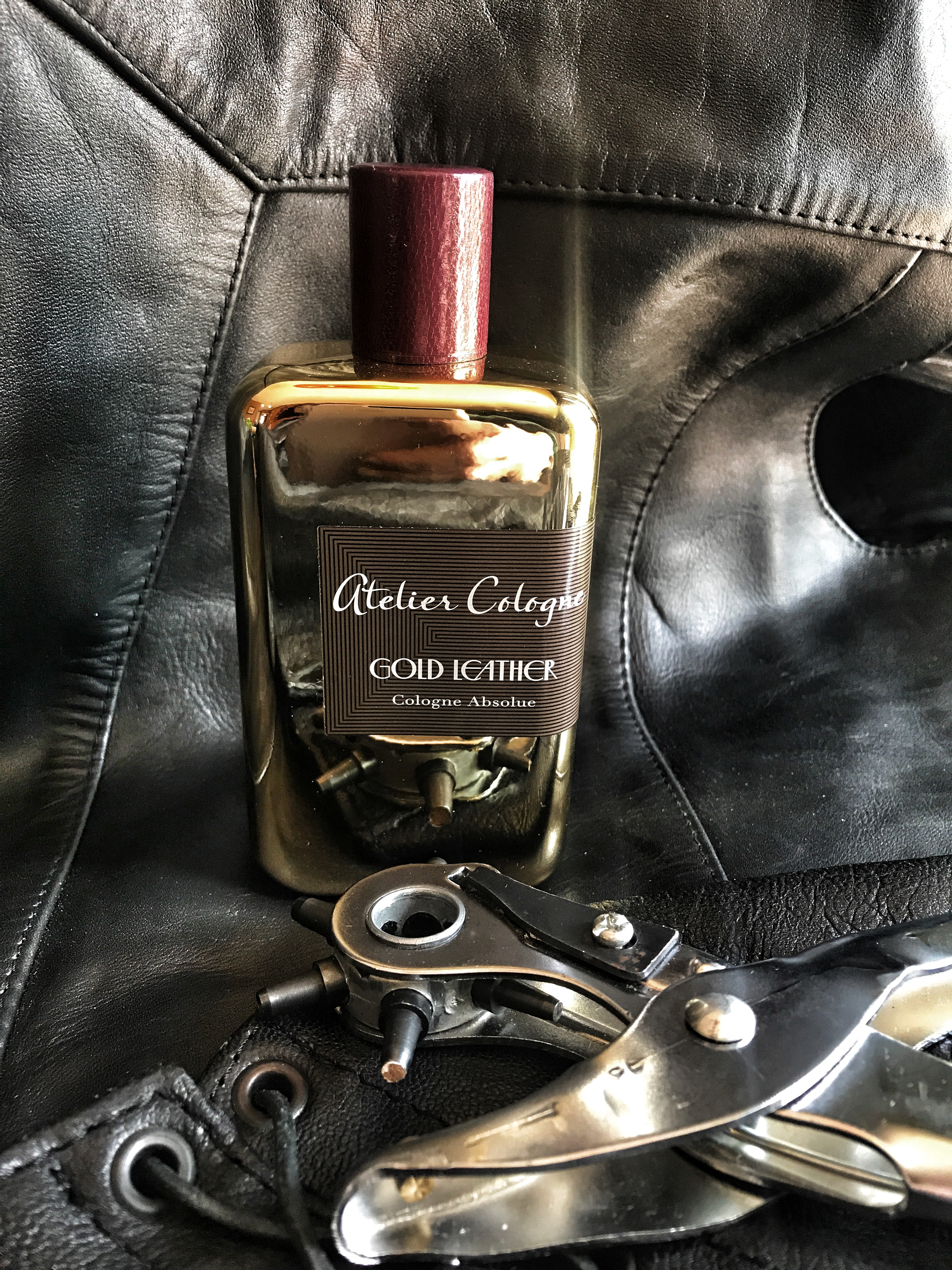 Atelier Gold Leather