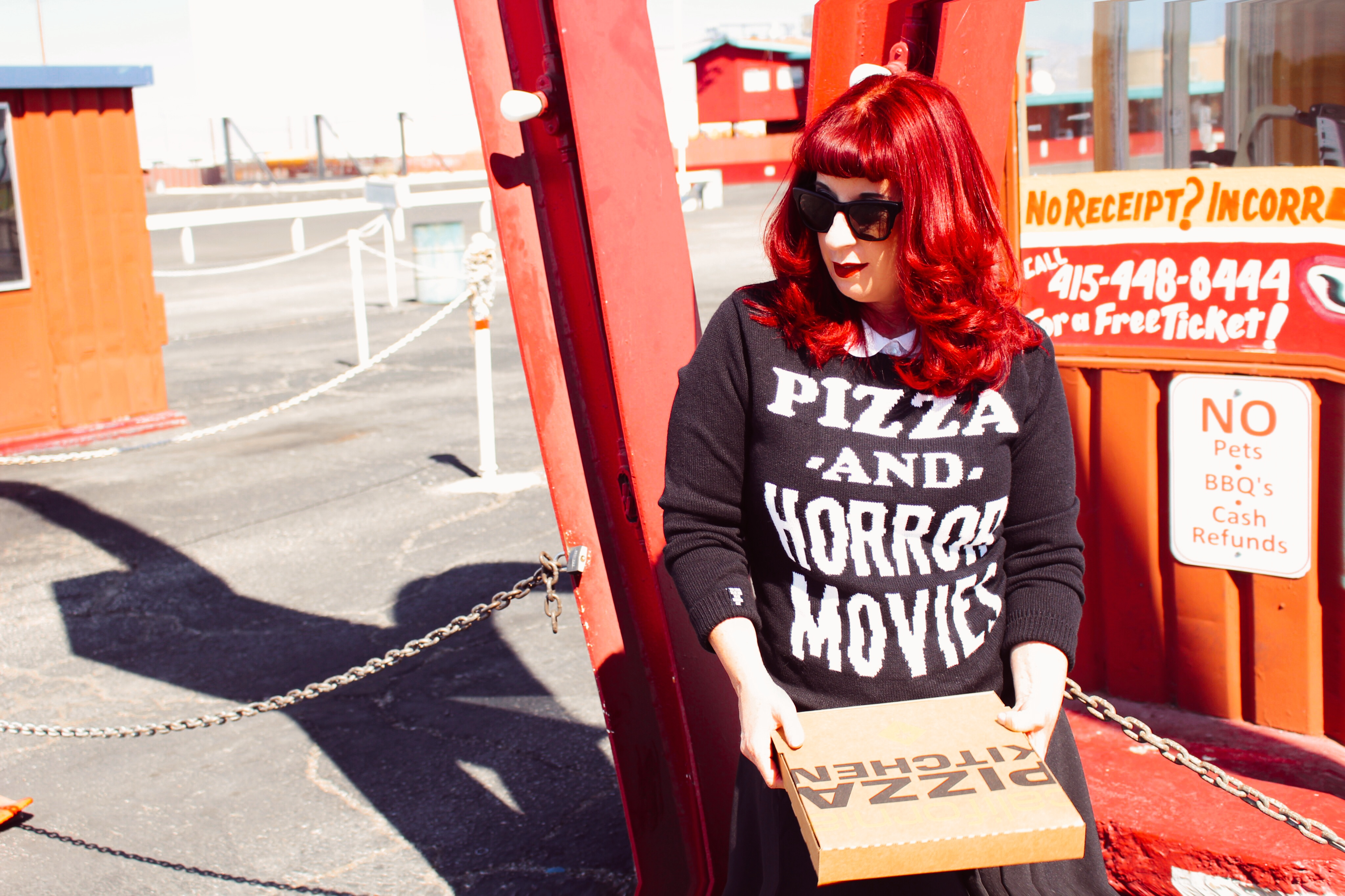 Pizza and Horror Movies with California Pizza Kitchen