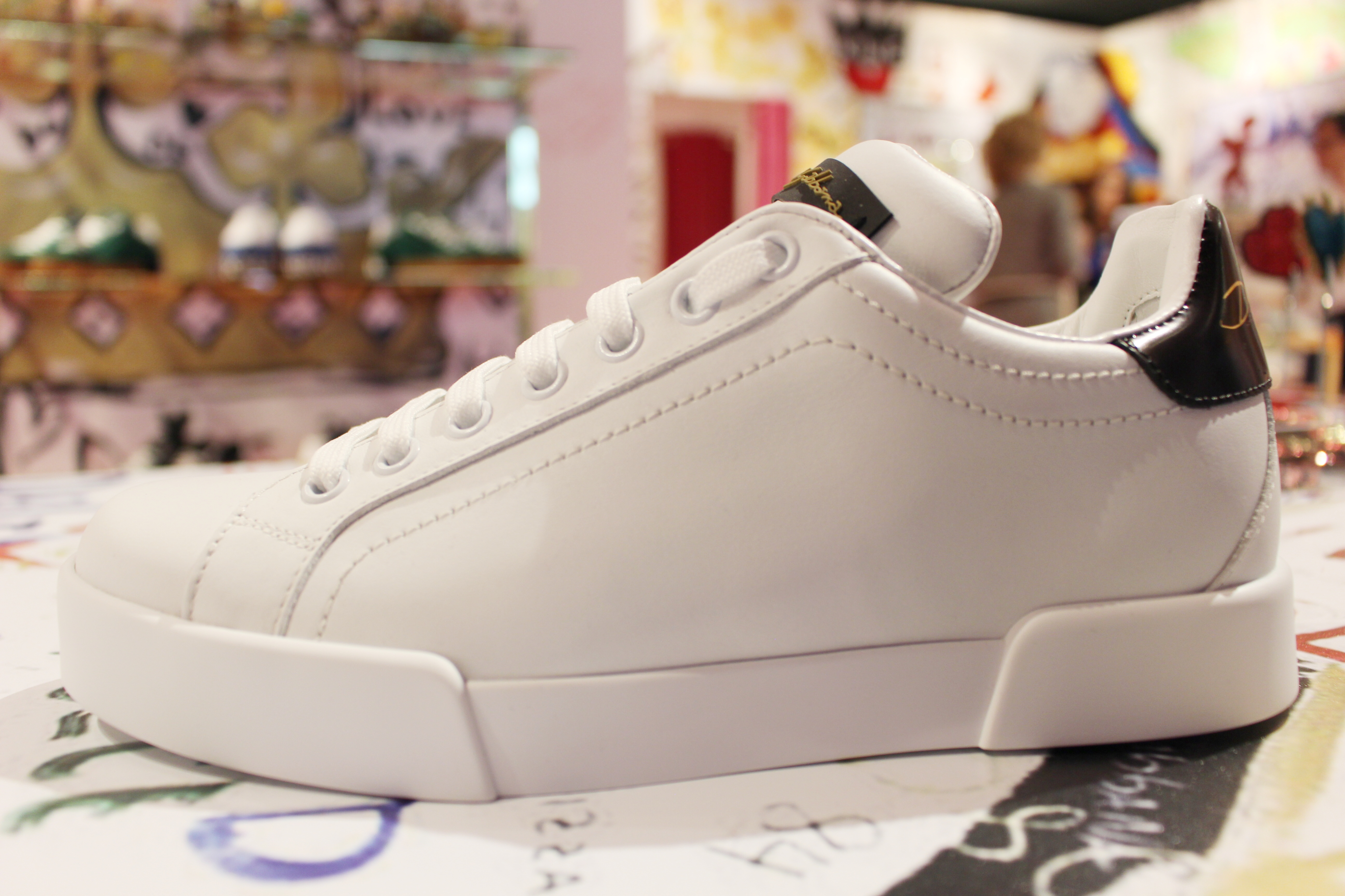 Dolce & Gabbana Customized Sneakers Archives Christie Moeller