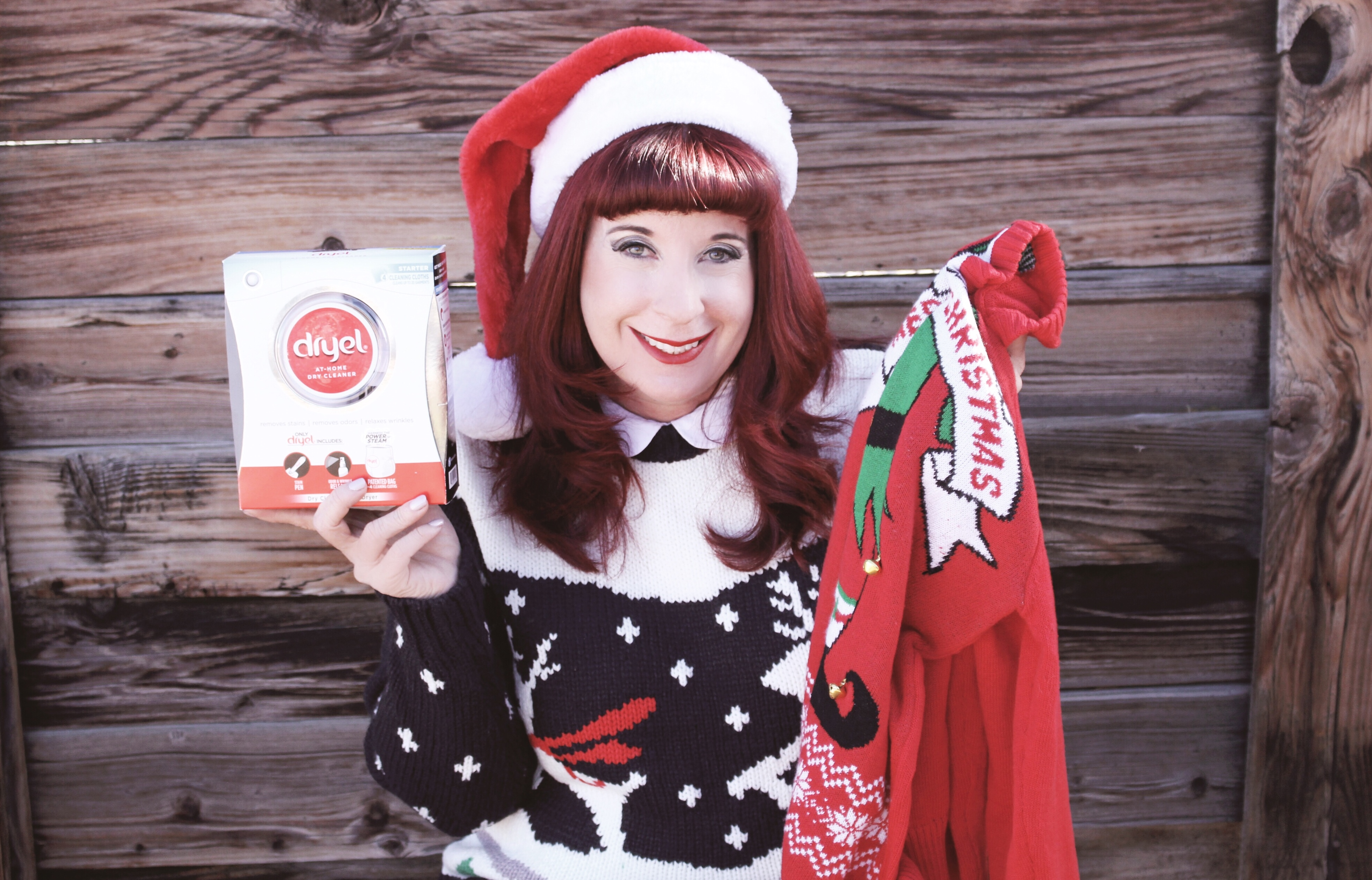 Caring for your Ugly Christmas Sweater with Dryel
