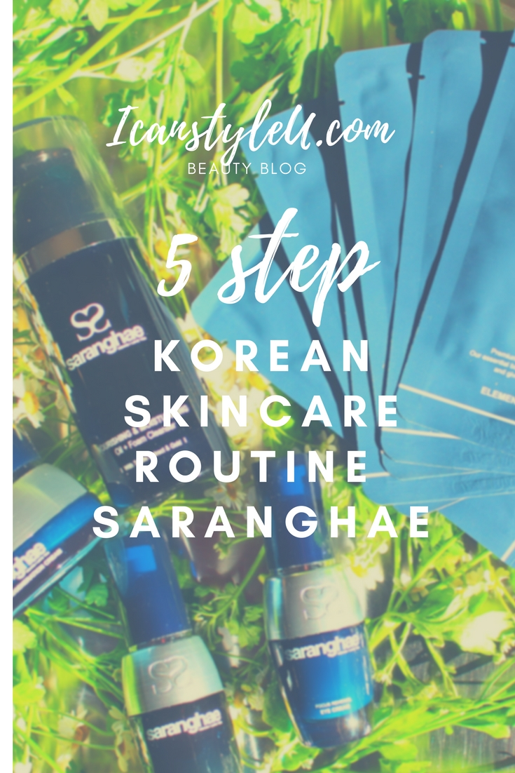 5 Step Korean Skincare Routine Saranghae