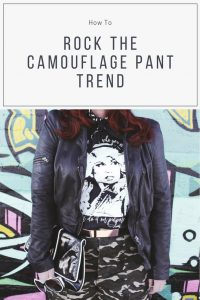 How to Rock the Camouflage Pant Trend
