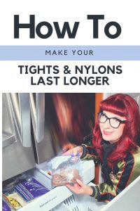 How to Make Your Tights and Nylons Last Longer: Freeze them!