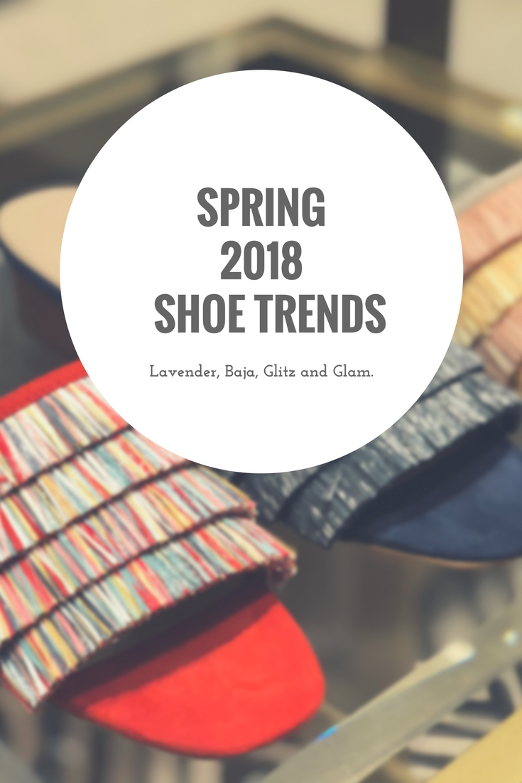 Spring 2018's Hottest Shoe Trends