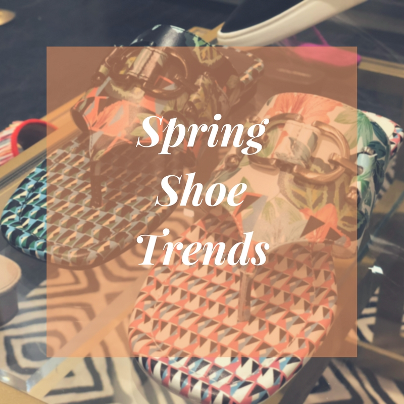 Spring 2018 Shoe Trends