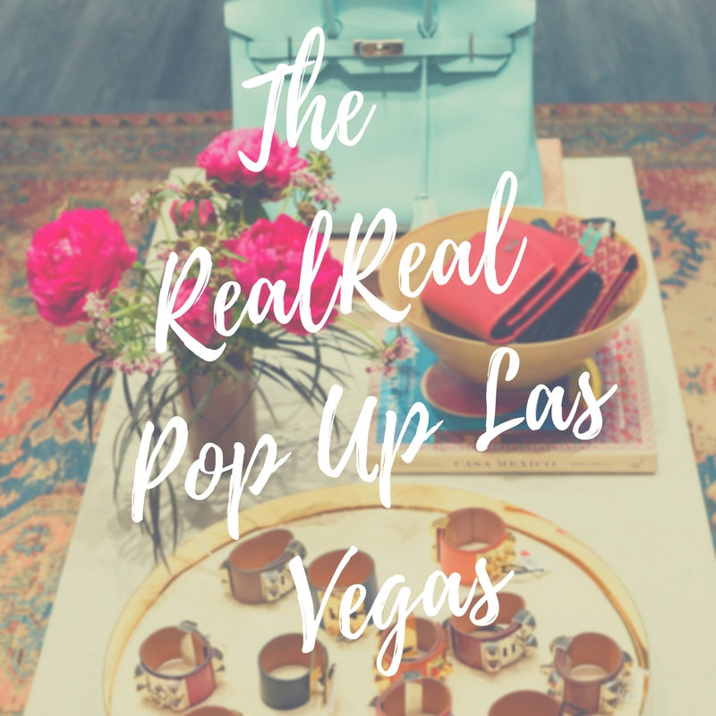 The RealReal.com Pop Up in Las Vegas