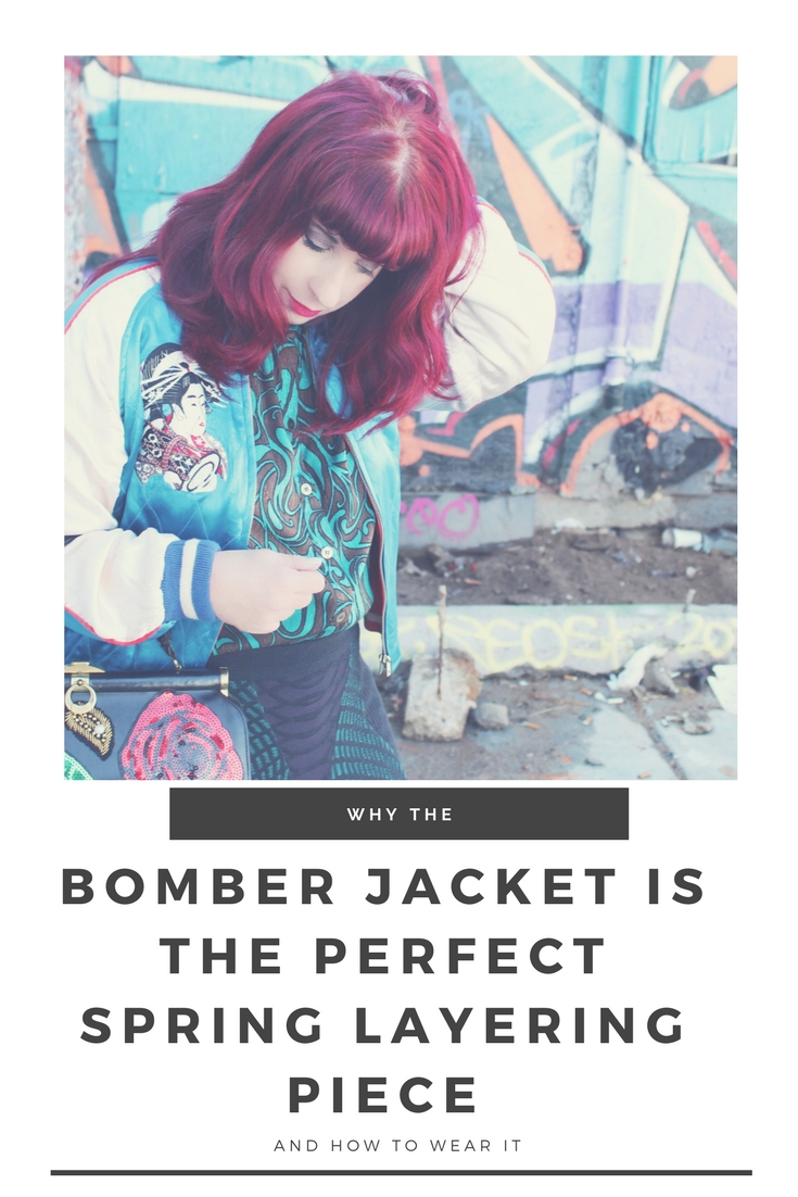 Why the bomber jacket is the perfect Spring layering piece and how to wear it.