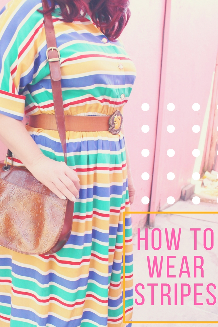 How to Wear Stripes and pull them off like a boss!