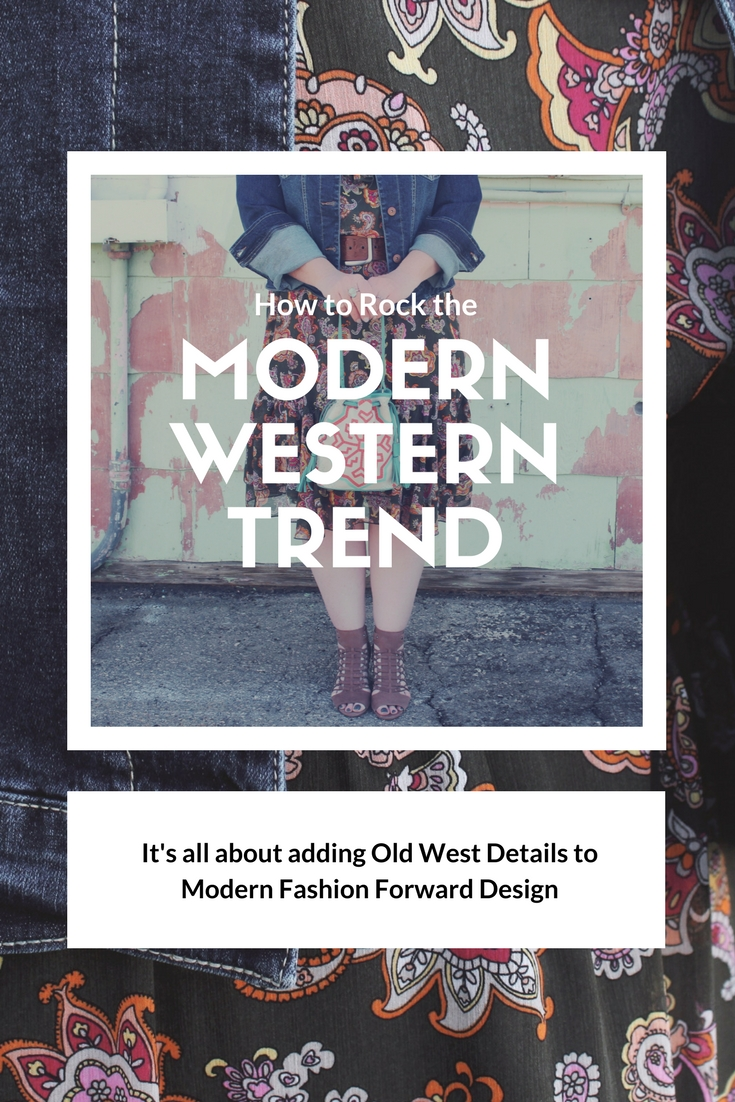 How to Rock the Modern Western Trend