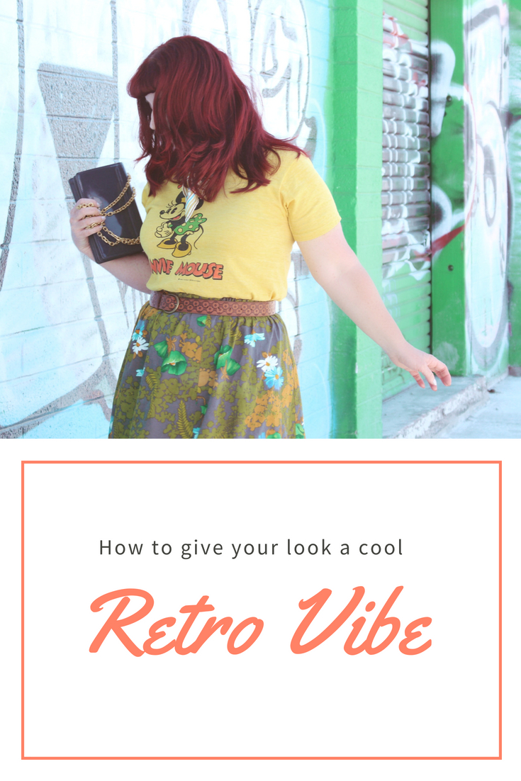 How to give your look a cool retro vibe