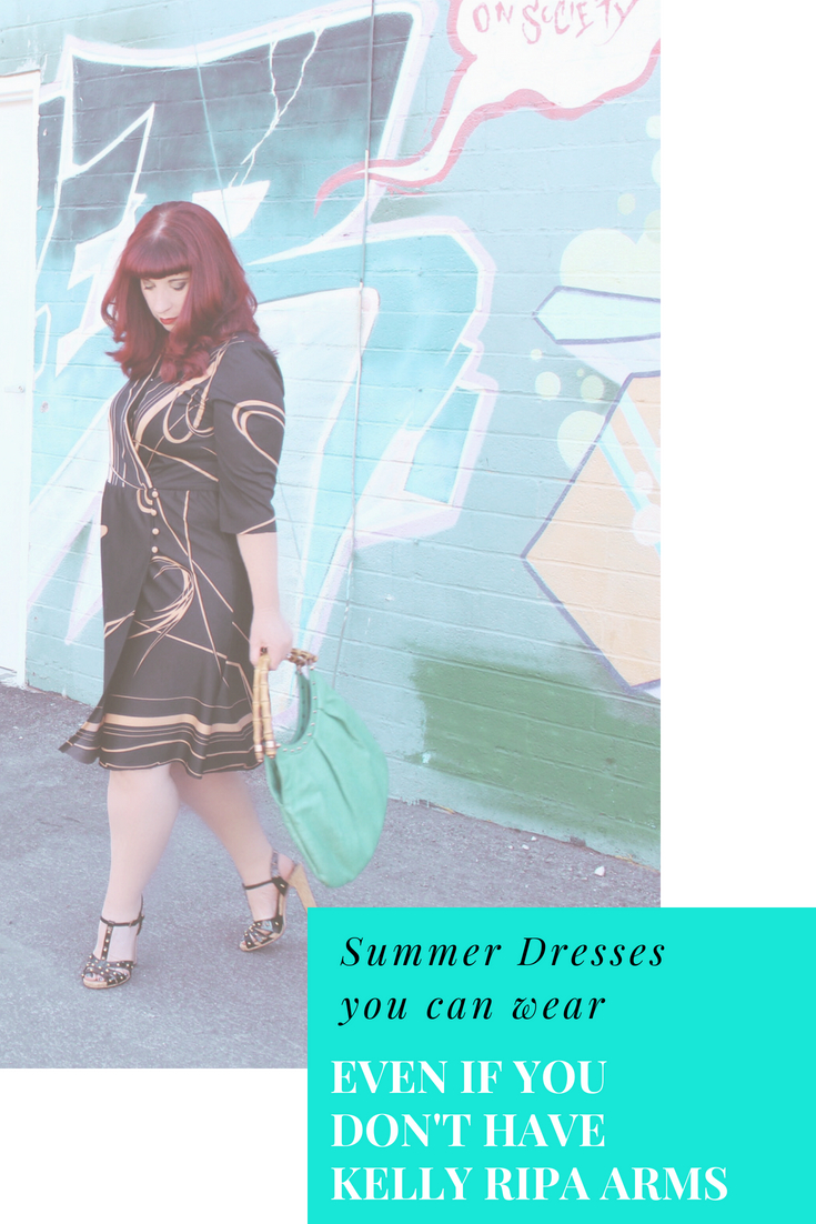 Summer Dresses You can Wear that cover arms.