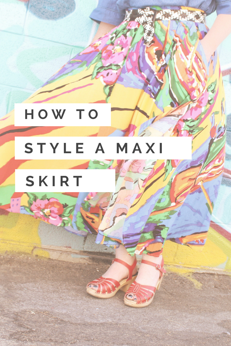 How to Style a Maxi Skirt. How to wear a Maxi Skirt
