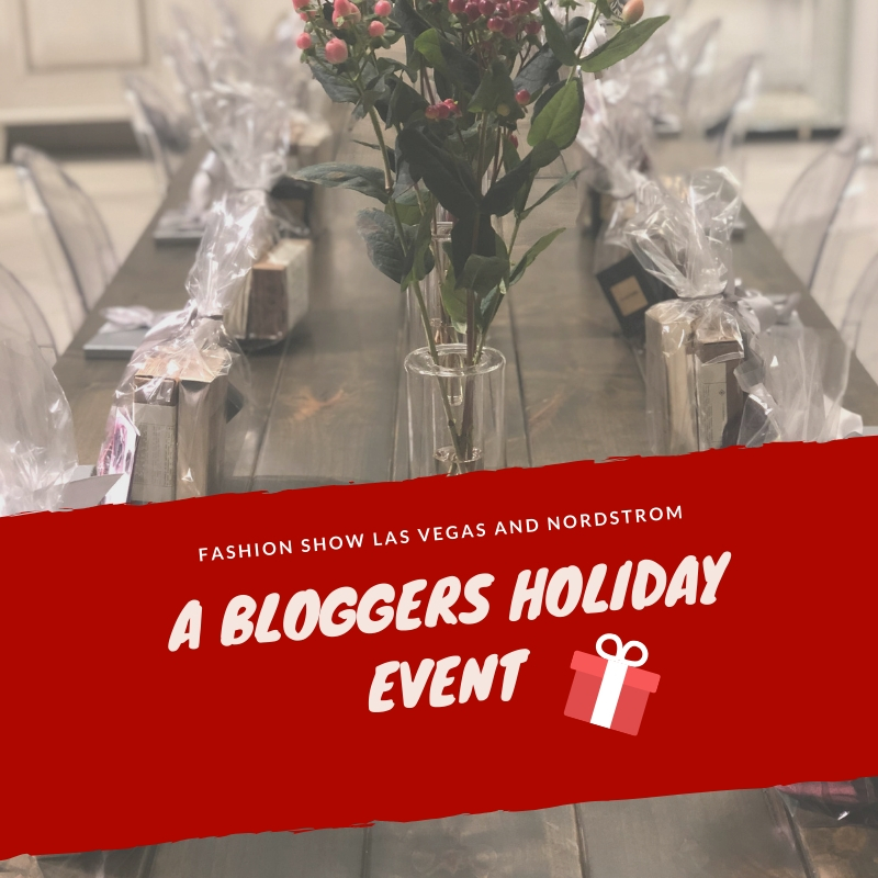 A Bloggers Holiday at Nordstrom