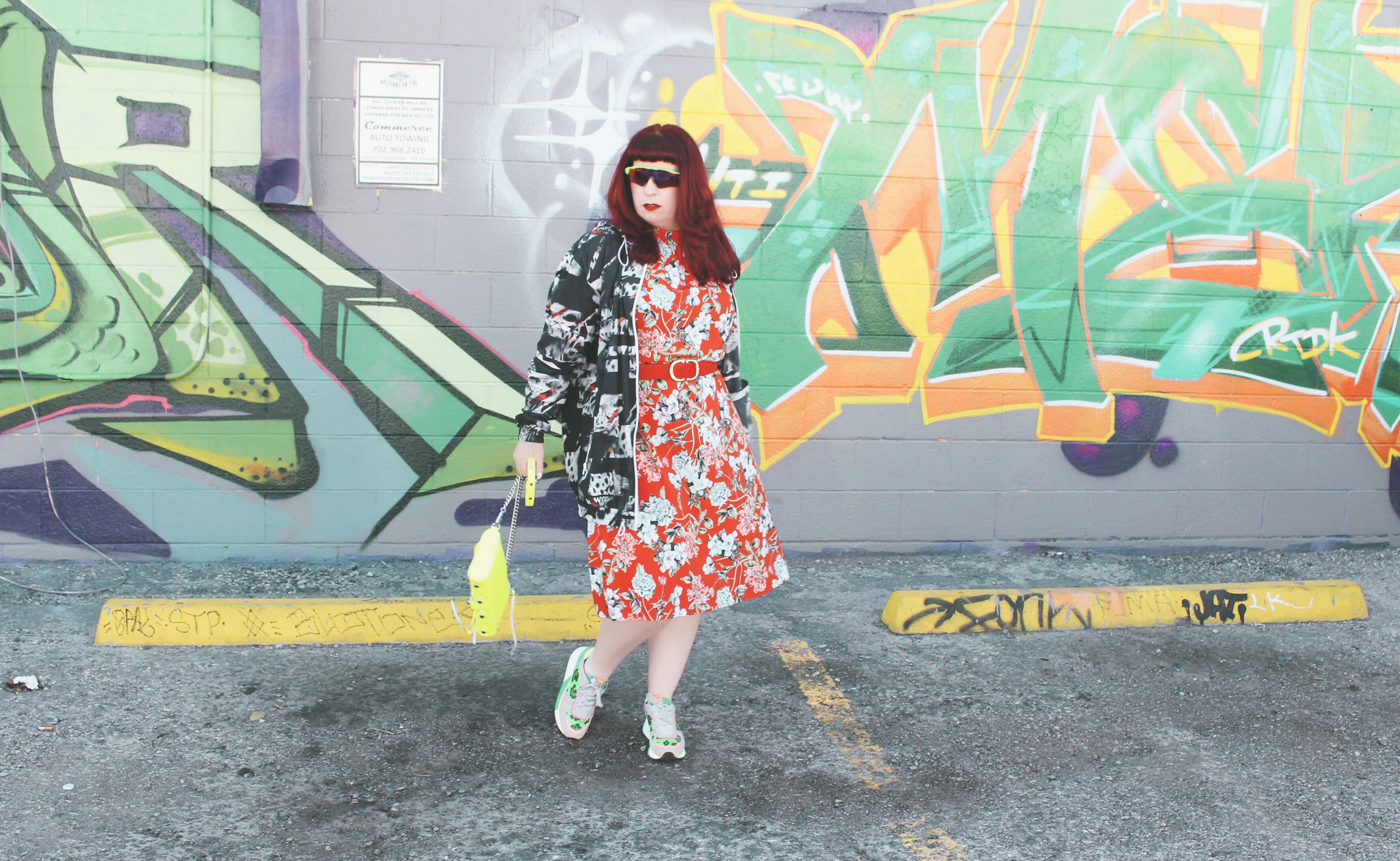 The Three Must Have S's of Spring: Shields, Sneakers and Spray Jackets
