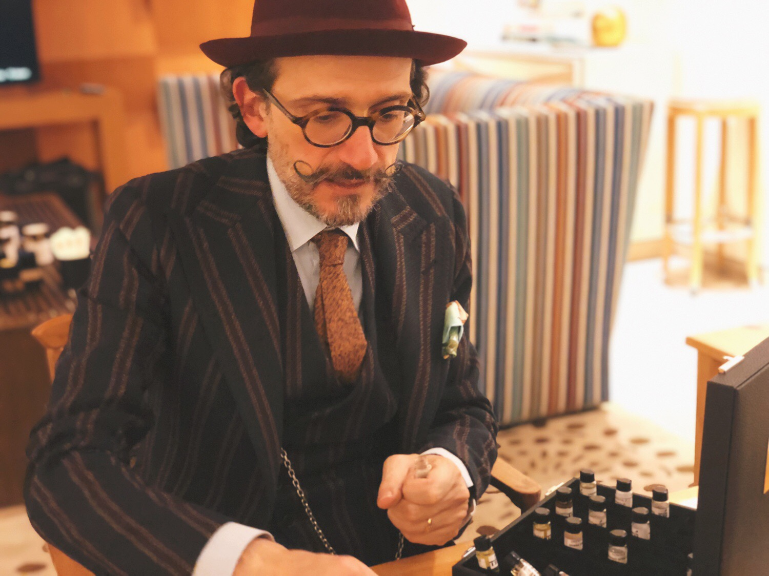 Olfactory Master Class with Paolo Terenzi