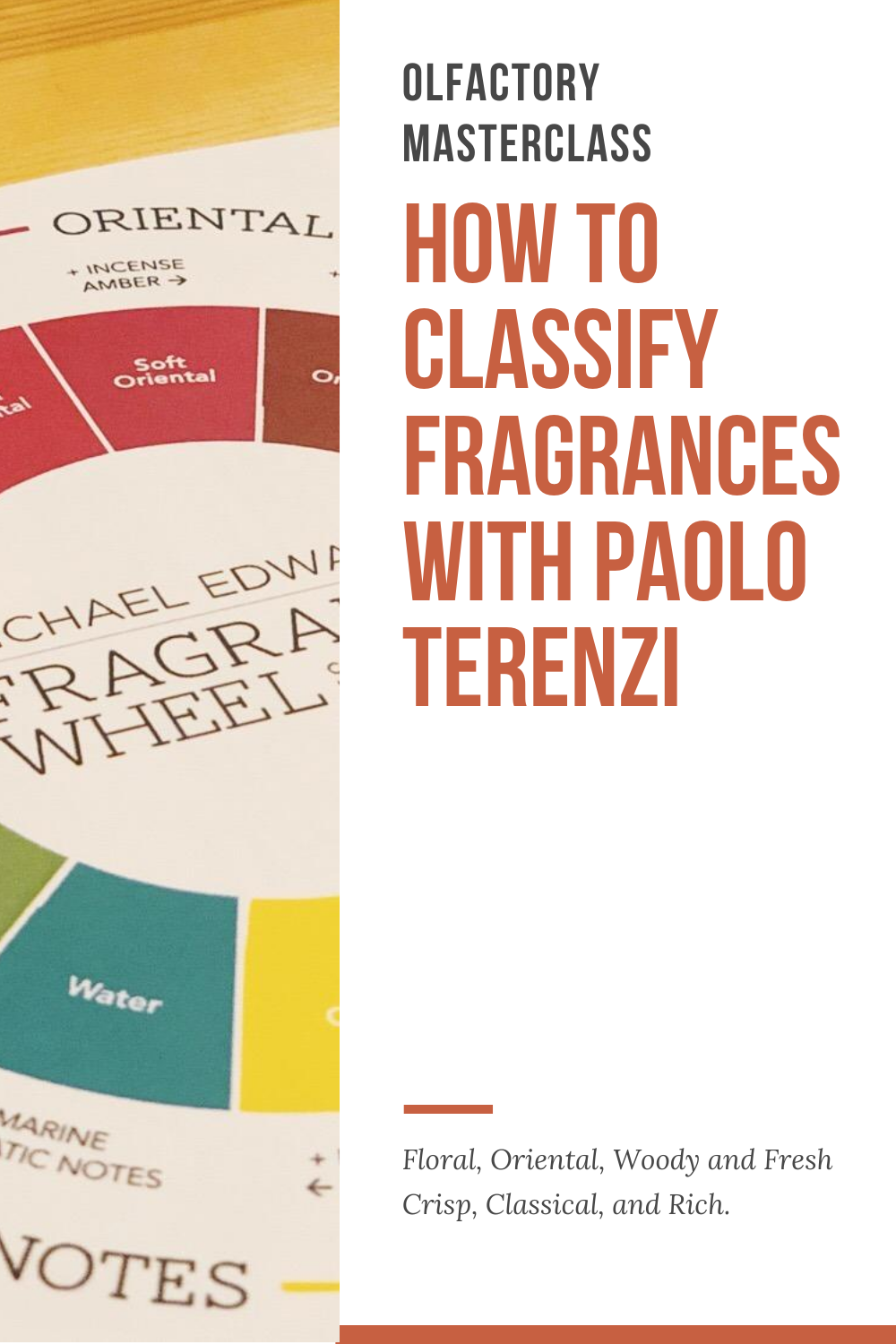 How to Classify Fragrances