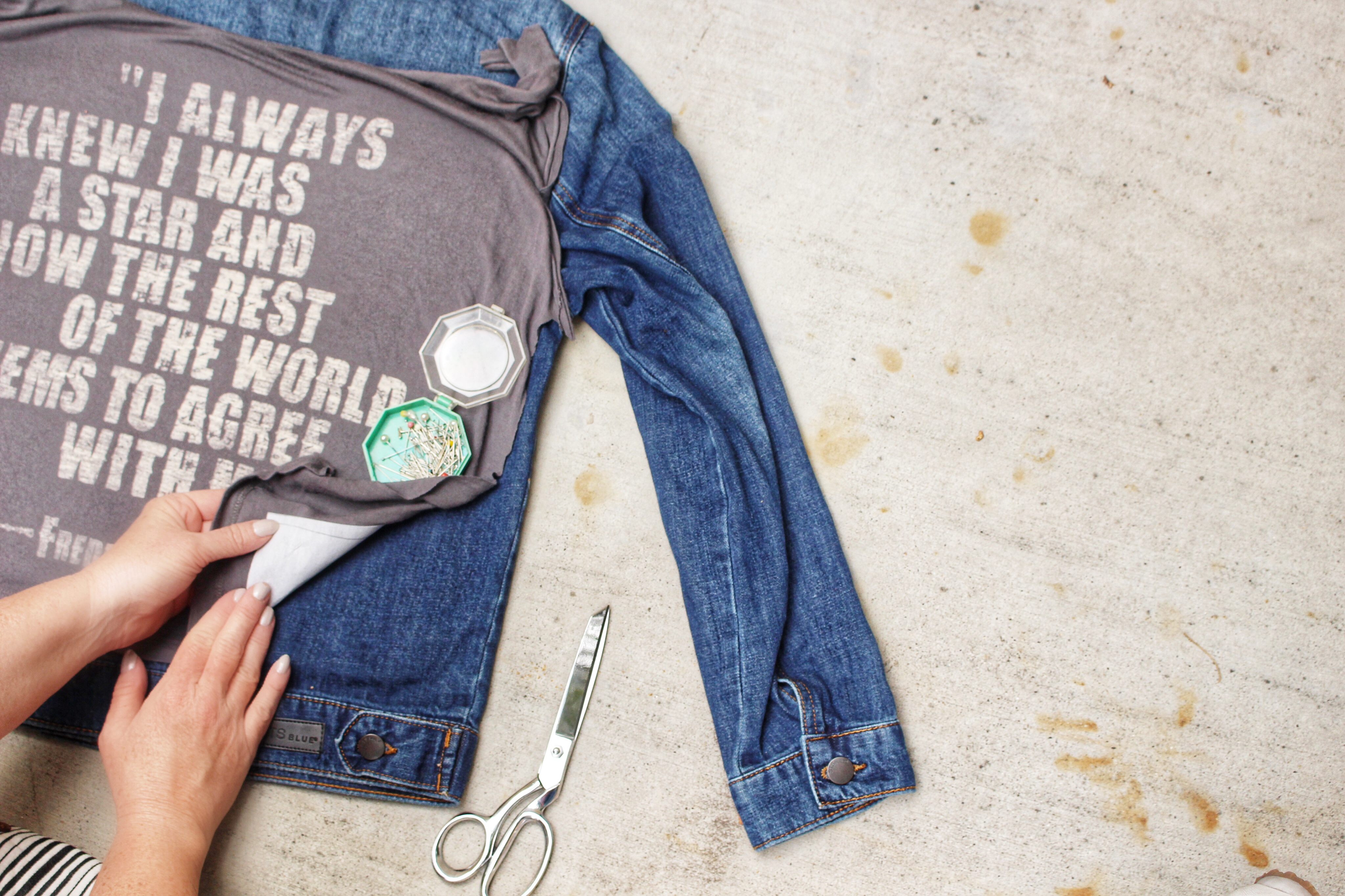 How to Turn a T-Shirt Graphic into a Patch