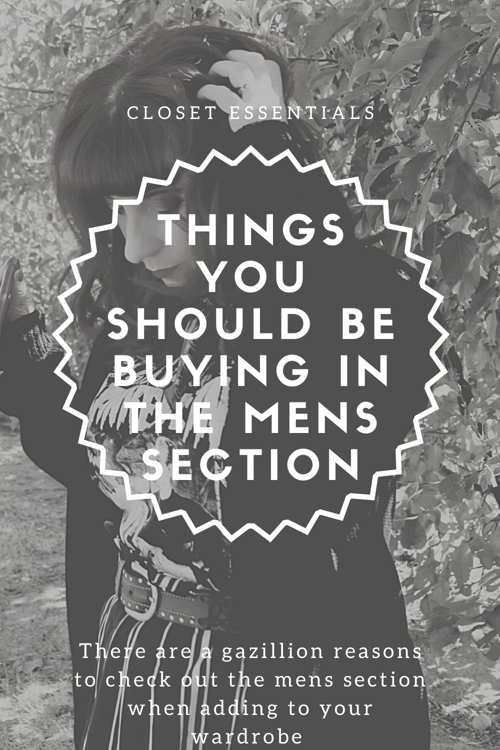 Things You Should Buy in the Mens Section