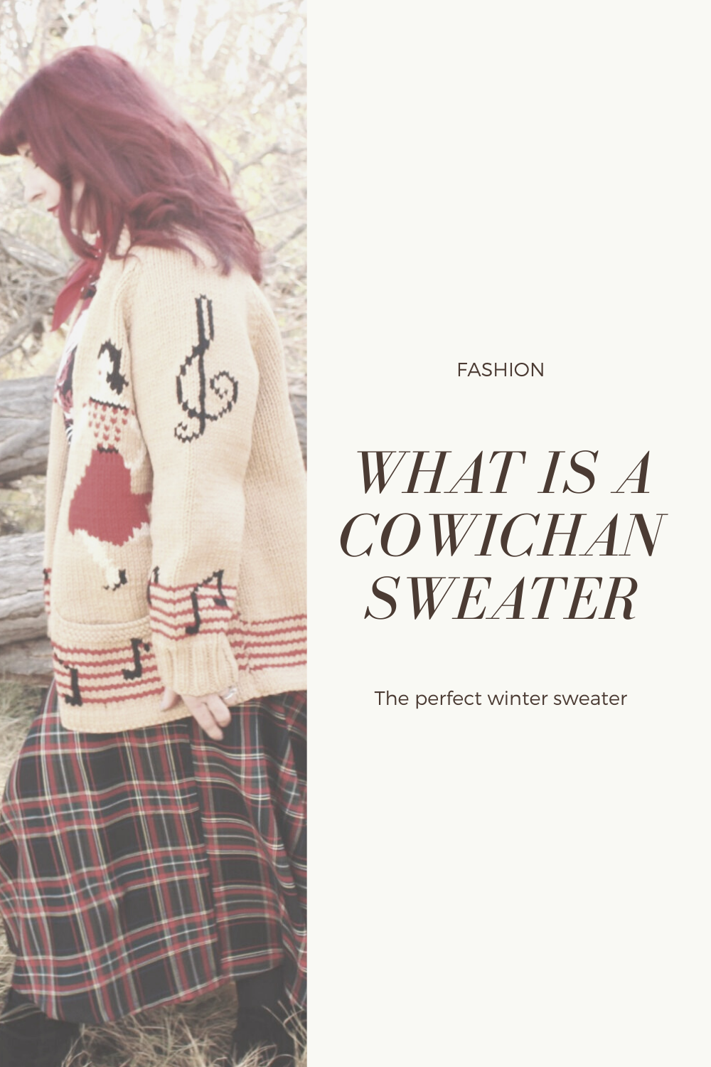 What is a cowichan sweater