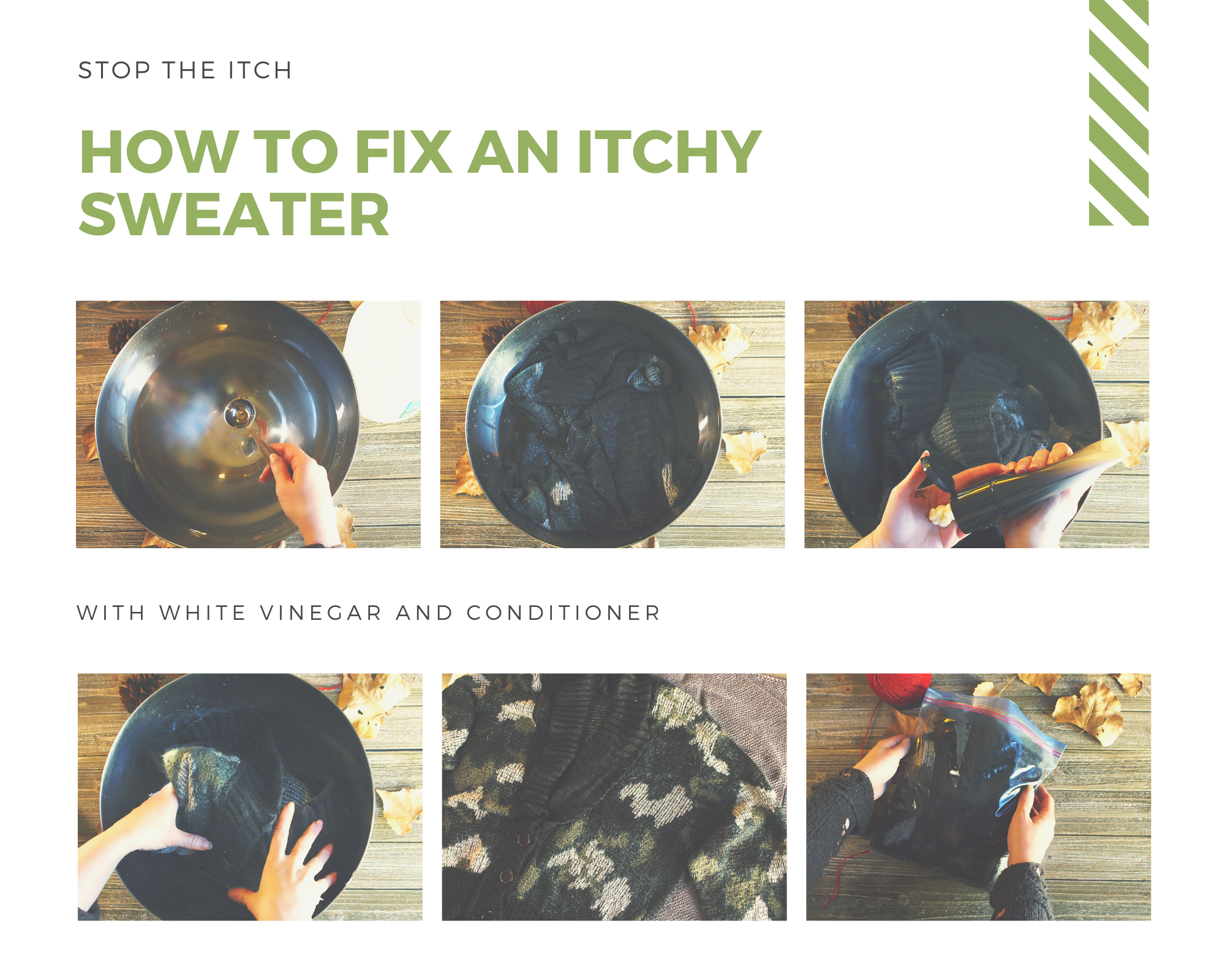 How to fix an itchy sweater