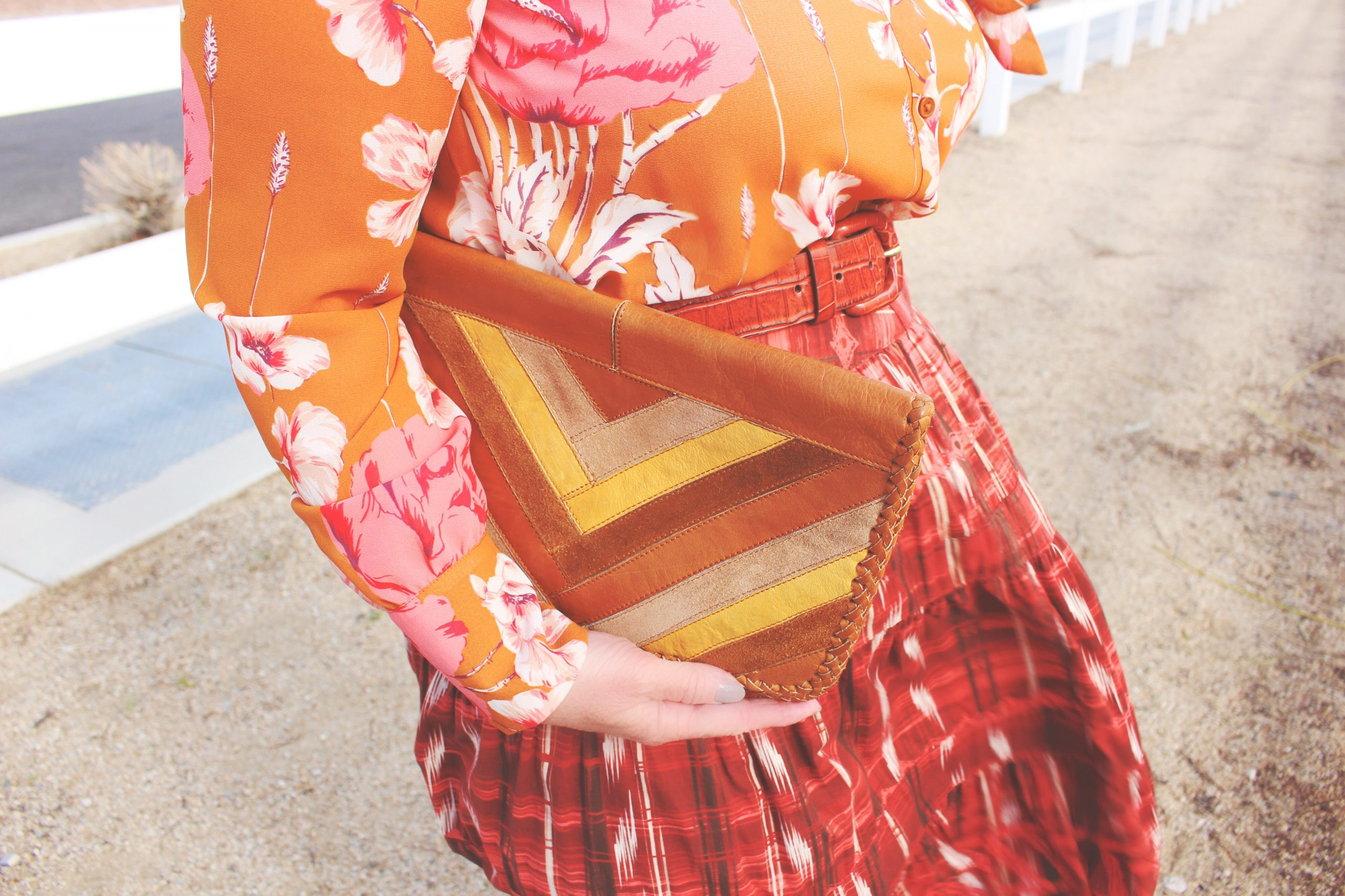 Aperol Spritz Inspired Outfit