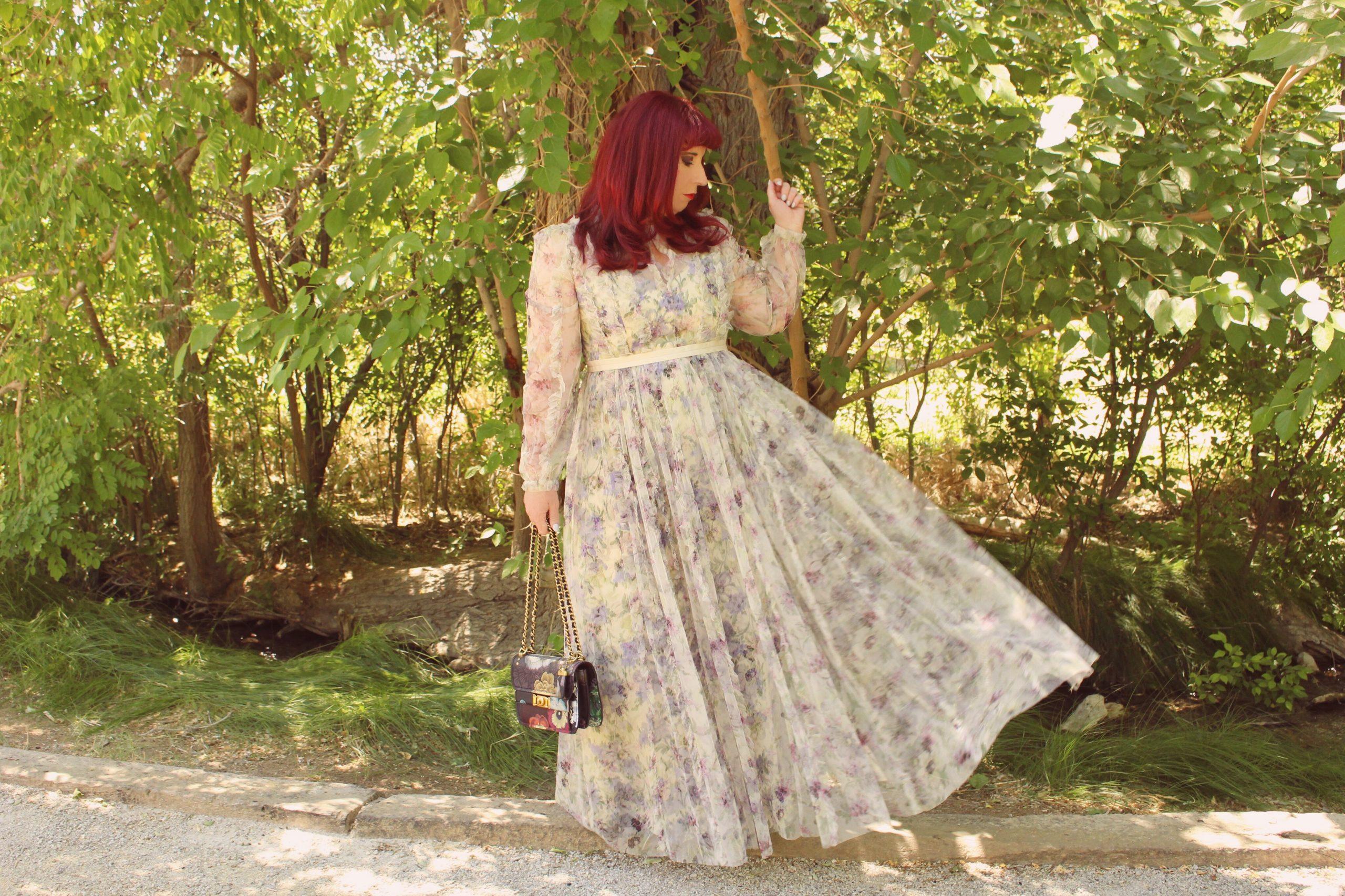 The Big Flower Fight Inspired Dresses