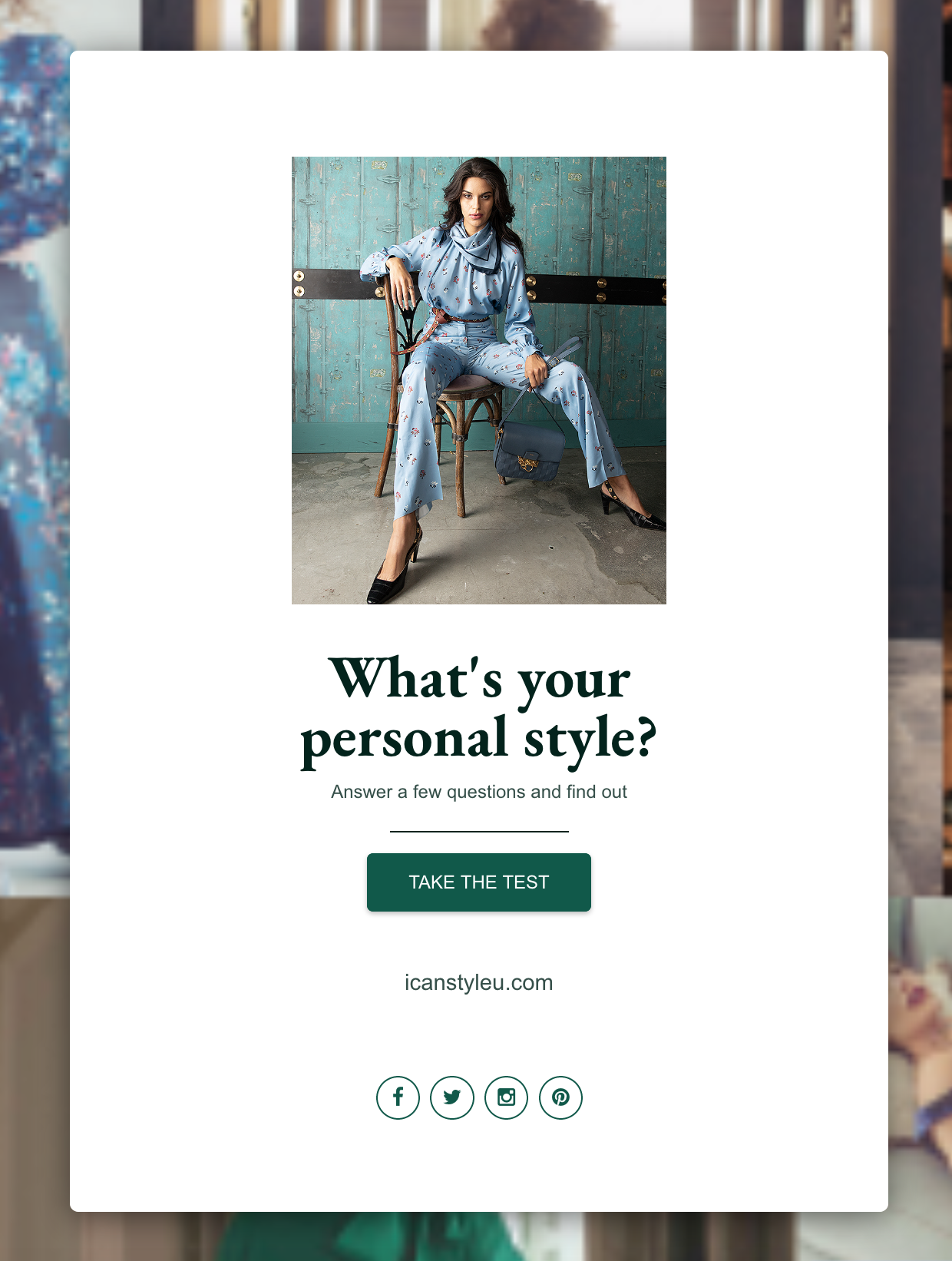 Style Quiz for She/Her