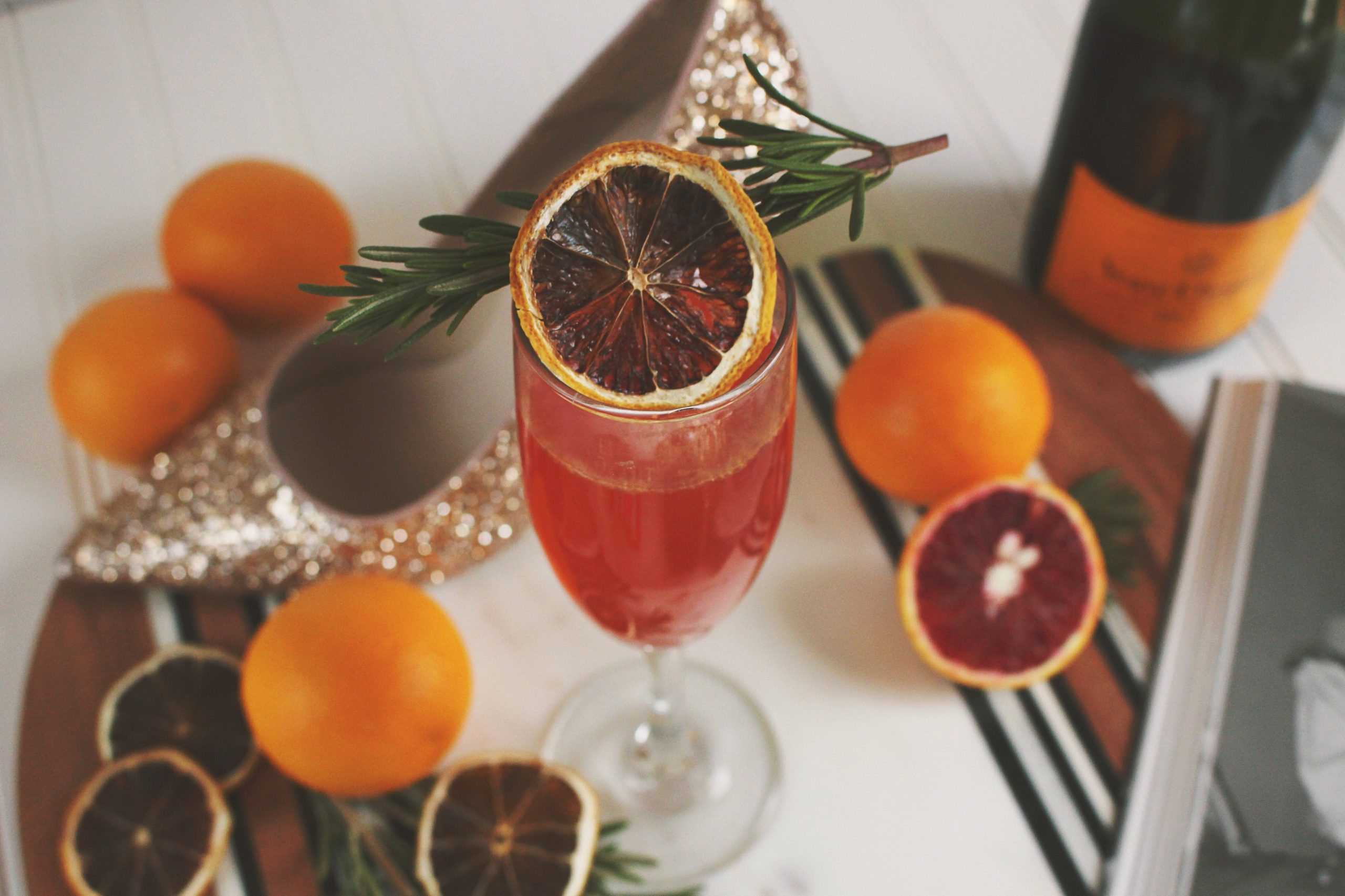 New Year's Champagne New Year's Cocktail