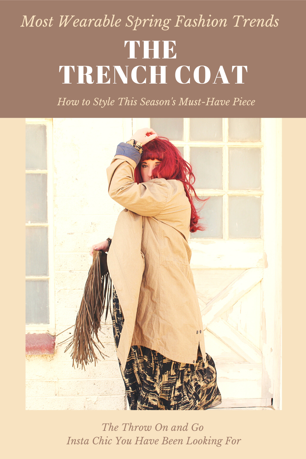 Spring trend Trench Coats