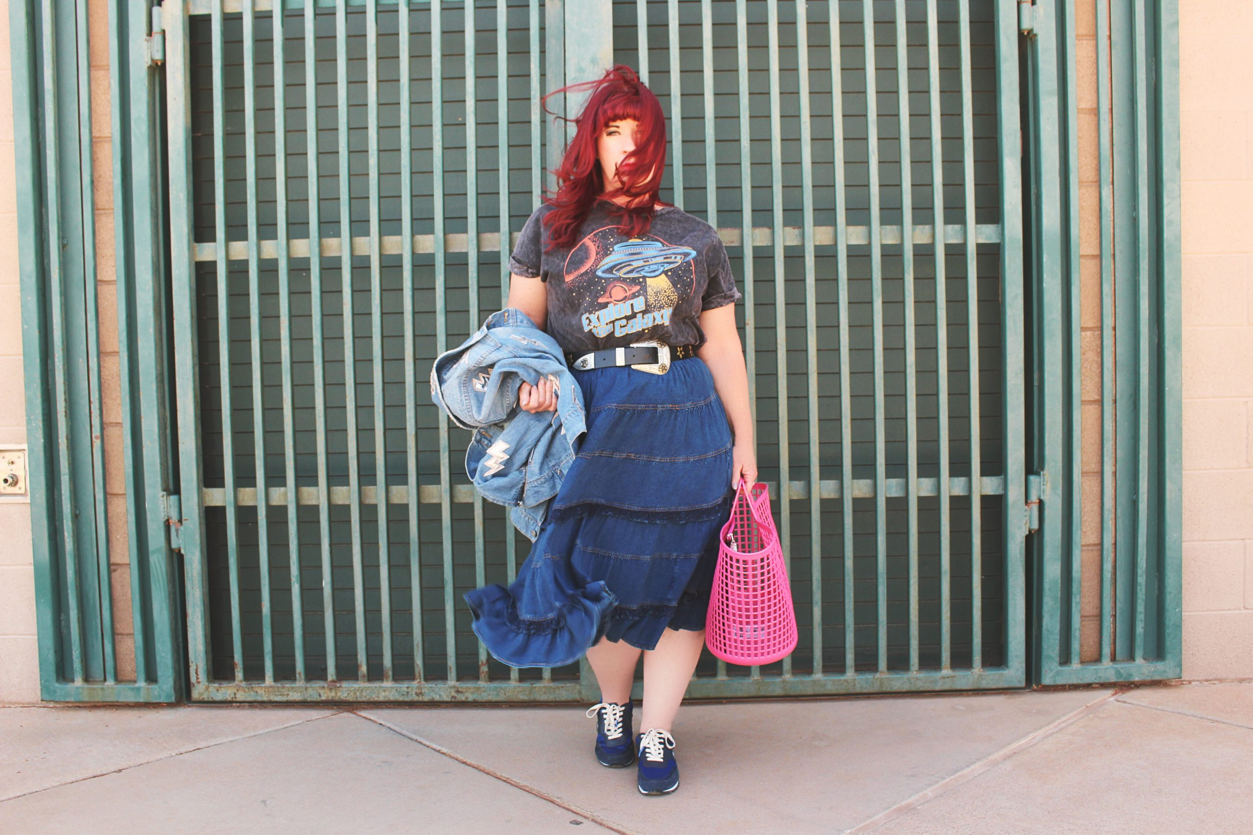 How to rock an oversized tee